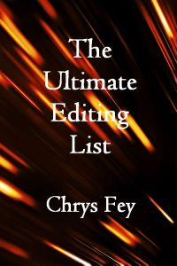 the ultimate editing list